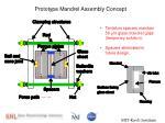 prototype mandrel assembly concept