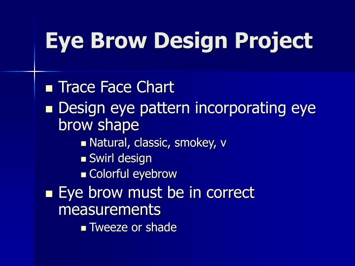 Ppt Eyebrow Shaping And Measuring Powerpoint Presentation Id5539567