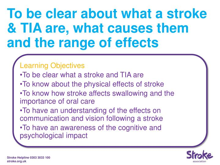 the effects of a stroke essay Stroke is the third leading cause of death and the leading cause of long-term disability in the united states there are approximately 4 million americans living with the effects of stroke.