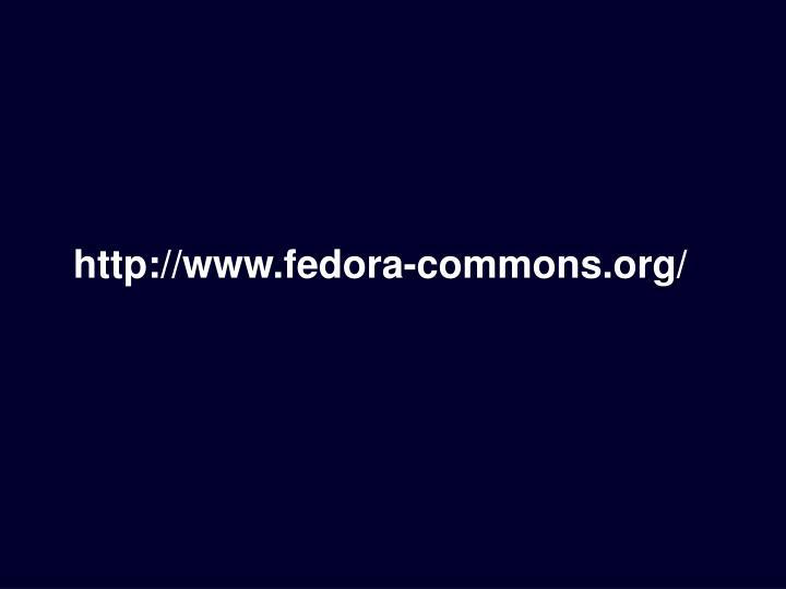 http://www.fedora-commons.org/
