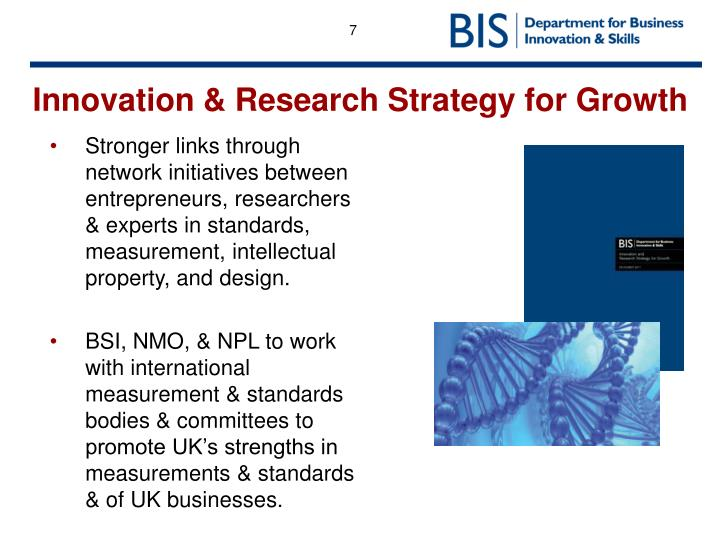 Innovation & Research Strategy for Growth