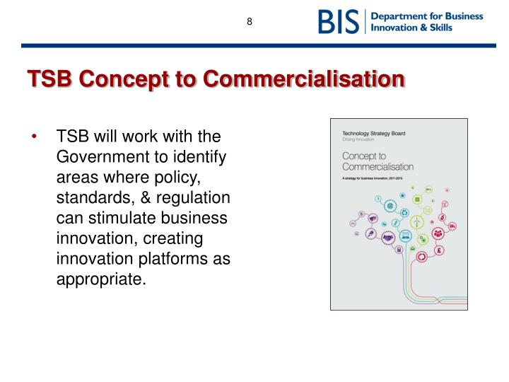 TSB Concept to Commercialisation