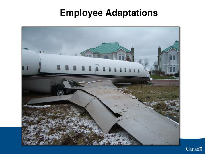 Employee Adaptations