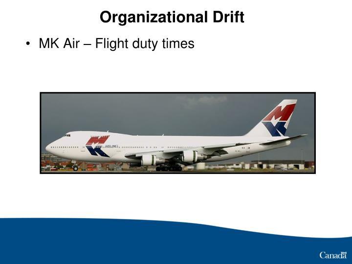 Organizational Drift