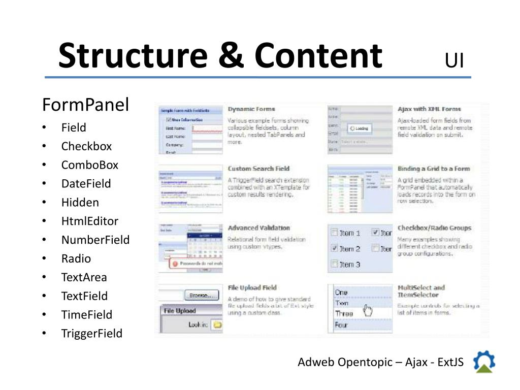 PPT - Adweb Opentopic AJAX PowerPoint Presentation - ID:5540049