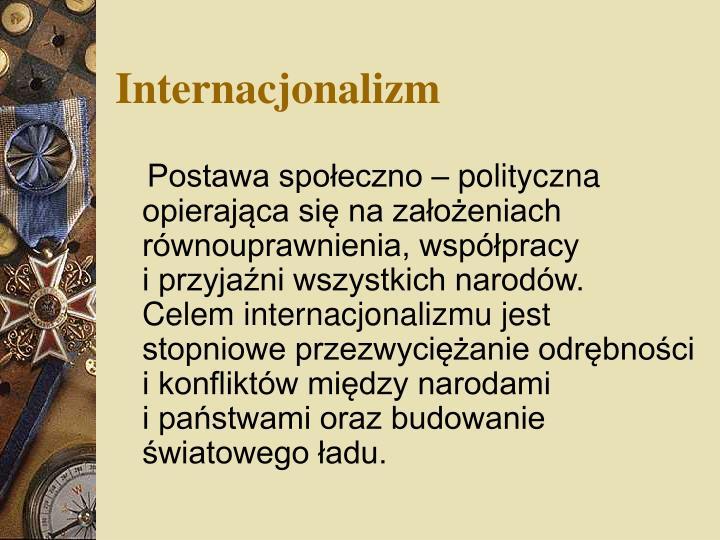 Internacjonalizm