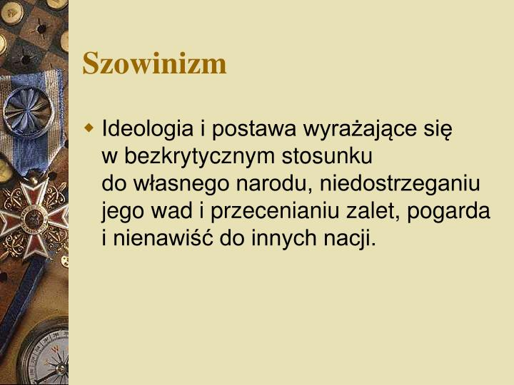 Szowinizm