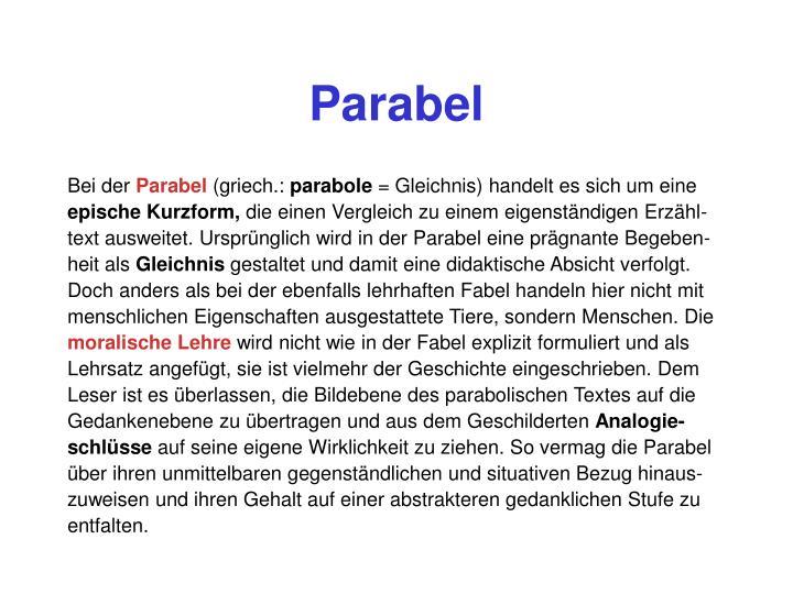 Parabel