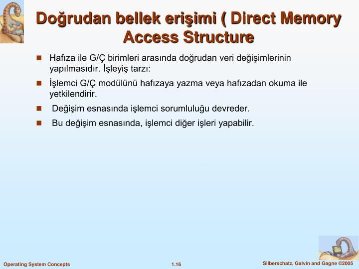 Doğrudan bellek erişimi (
