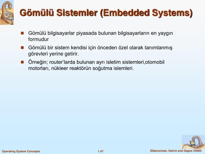 Gömülü Sistemler (