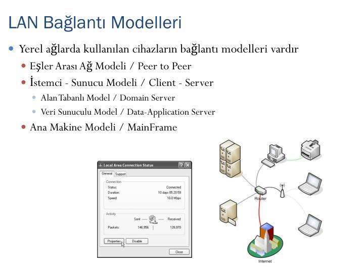 LAN Bağlantı Modelleri