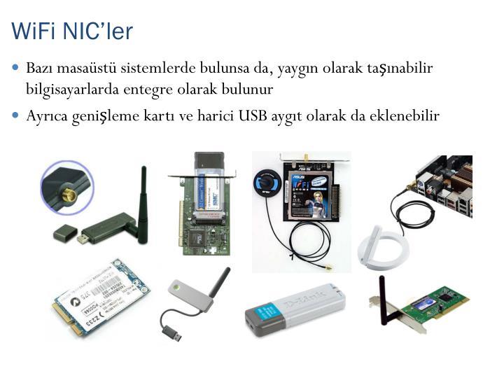 WiFi NIC'ler