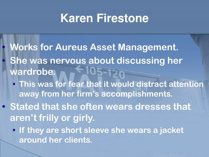 Karen Firestone