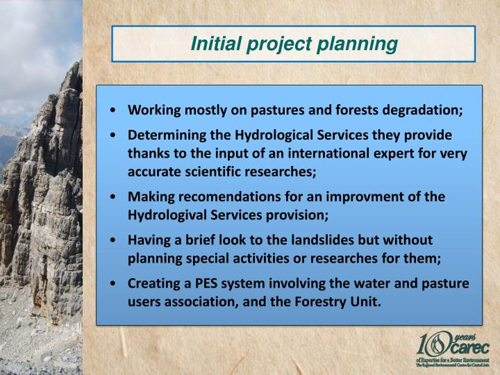 Working mostly on pastures and forests degradation;