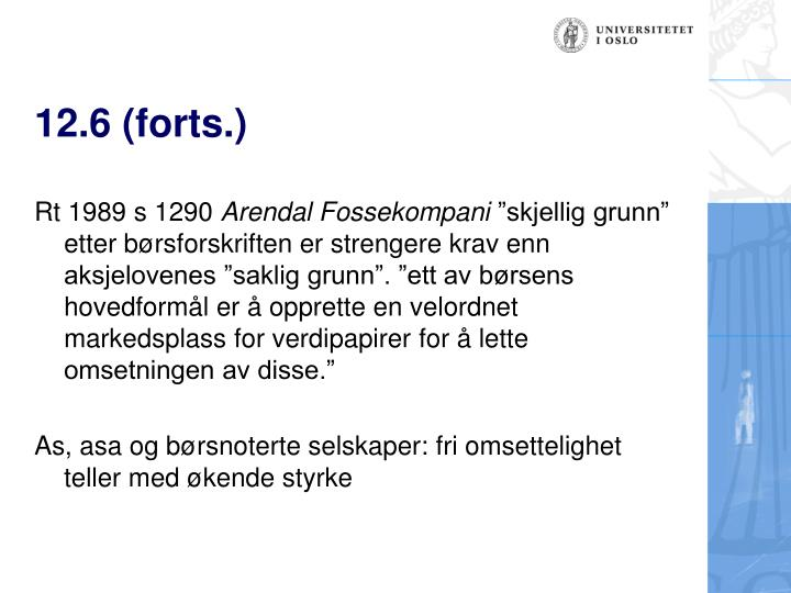 12.6 (forts.)