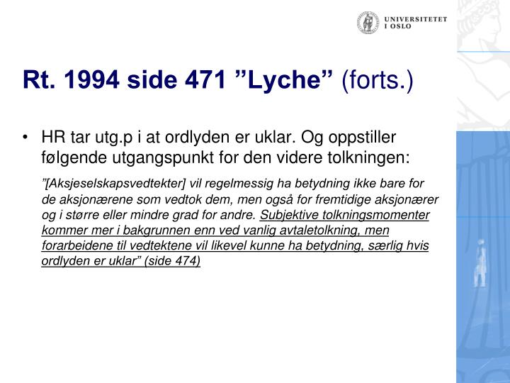 "Rt. 1994 side 471 ""Lyche"""