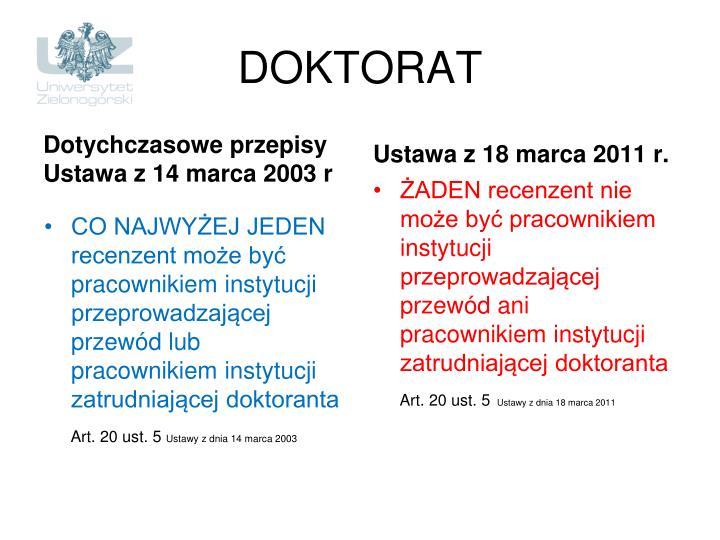 DOKTORAT