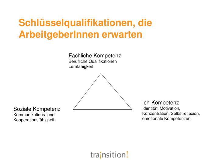 Schlüsselqualifikationen, die ArbeitgeberInnen erwarten