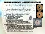 population growth economic development