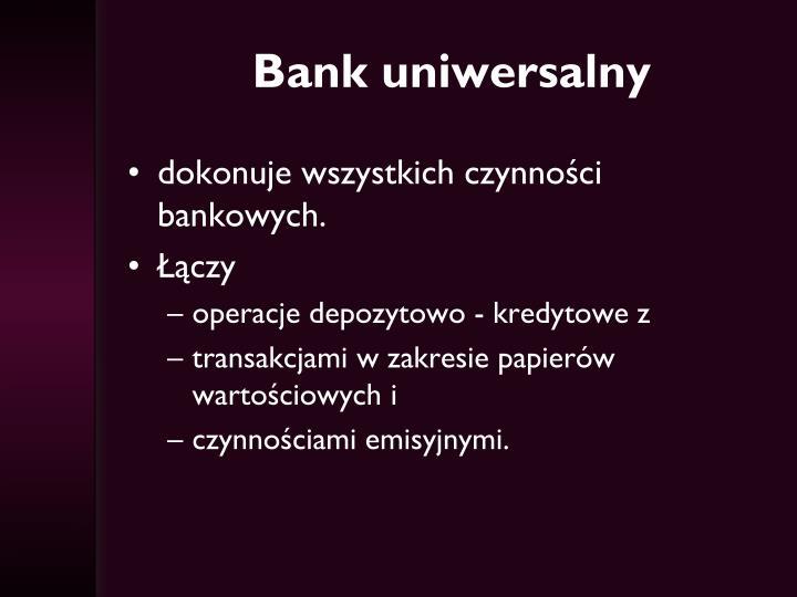 Bank uniwersalny
