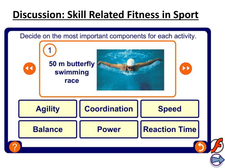 Discussion: Skill Related Fitness in Sport