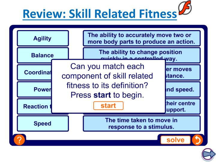 Review: Skill Related Fitness