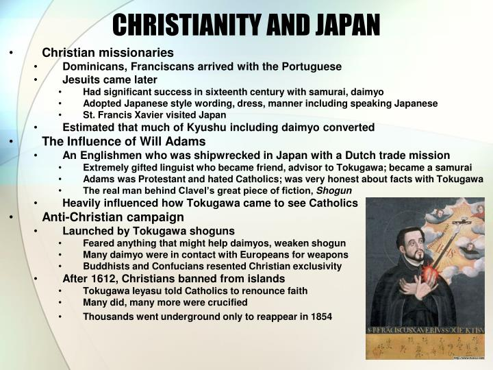 CHRISTIANITY AND JAPAN