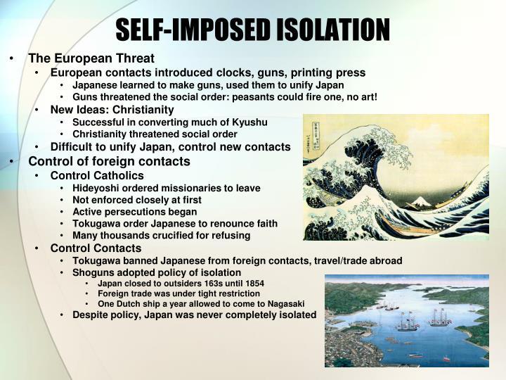 SELF-IMPOSED ISOLATION