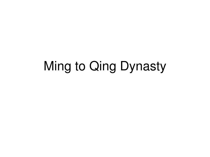 why did qing dynasty fail modernization Start studying ap world ch 33-44 learn vocabulary the qing dynasty had ruled china since 1644 why was japan successful in modernization while russia.