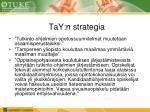 tay n strategia