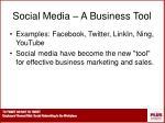 social media a business tool