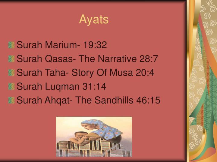 Ayats