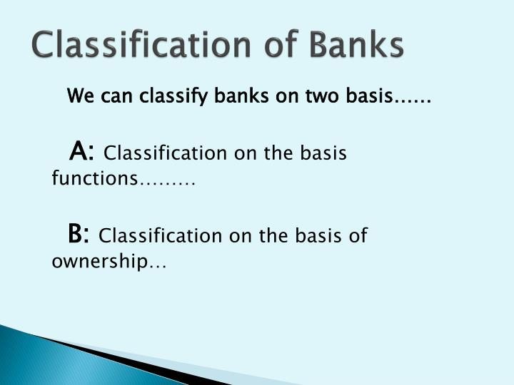 a classification