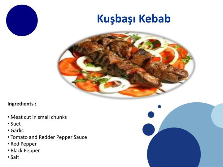 Kuşbaşı Kebab