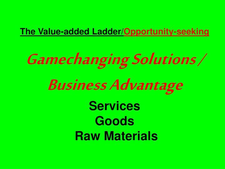 The Value-added Ladder/
