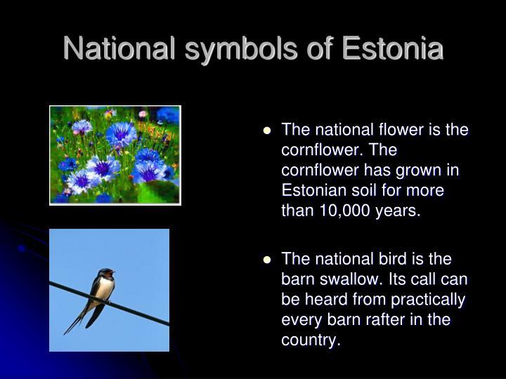 National symbols of estonia