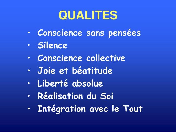 QUALITES