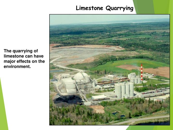 Limestone Quarrying