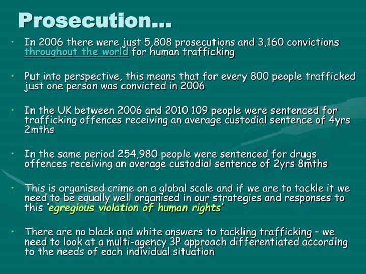 Prosecution…
