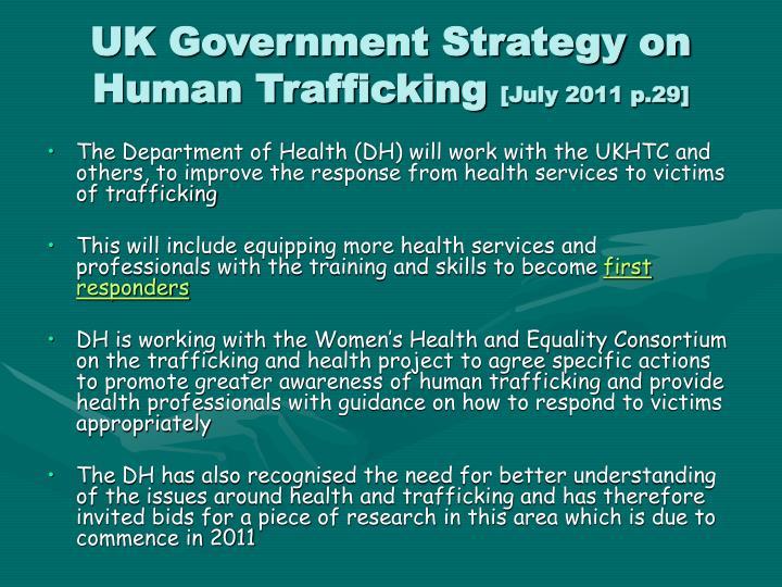 Uk government strategy on human trafficking july 2011 p 29