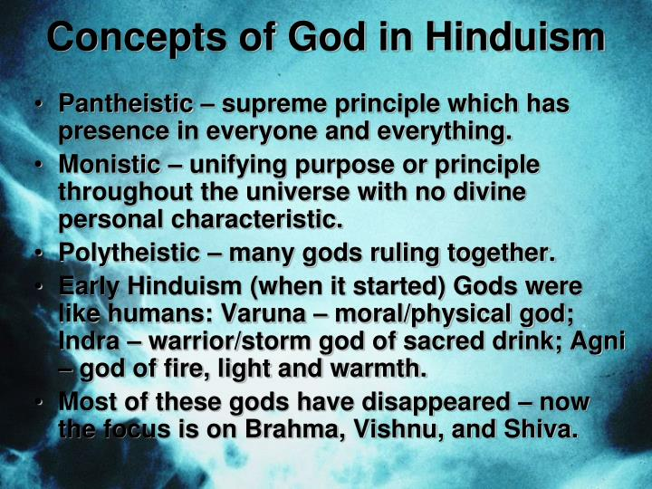 Concepts of God in Hinduism