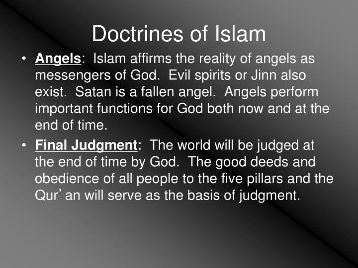 Doctrines of Islam