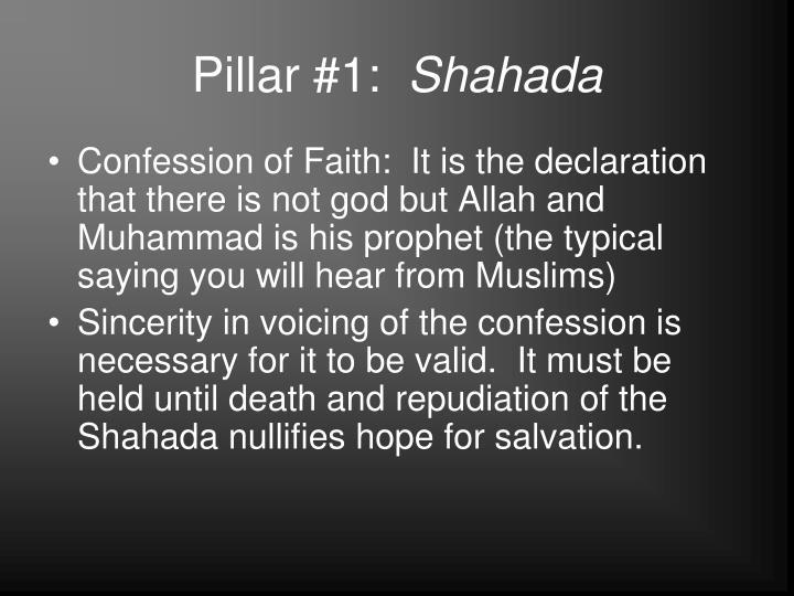 Pillar #1: