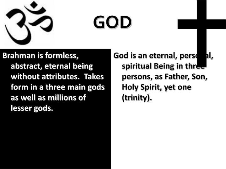 God is an eternal, personal,