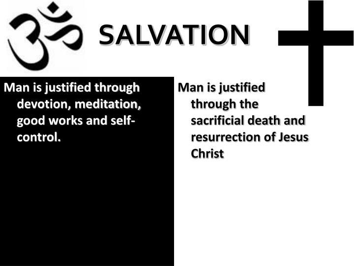 Man is justified