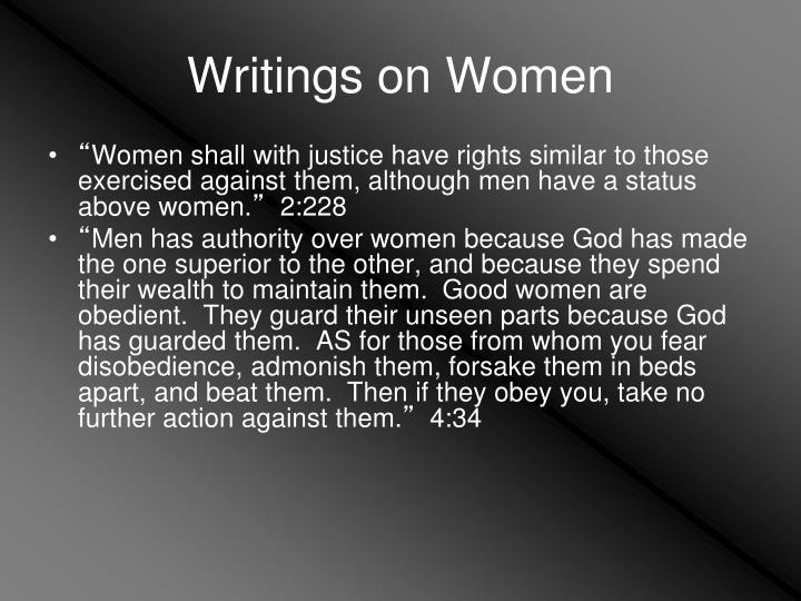 Writings on Women