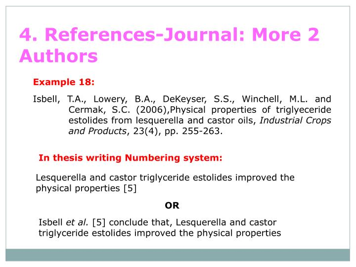 4. References-Journal: More 2 Authors