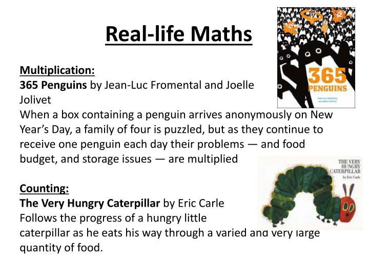 Real-life Maths