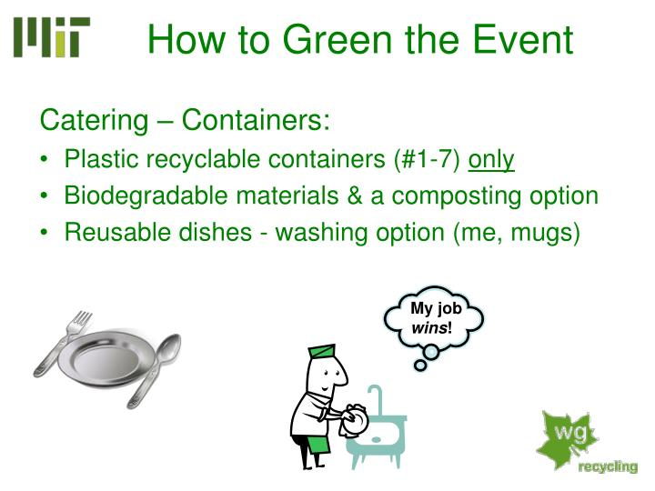Catering – Containers: