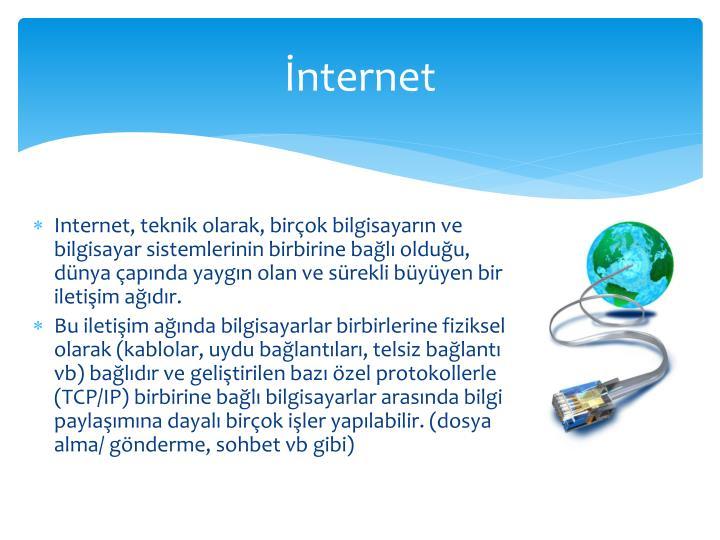 Nternet
